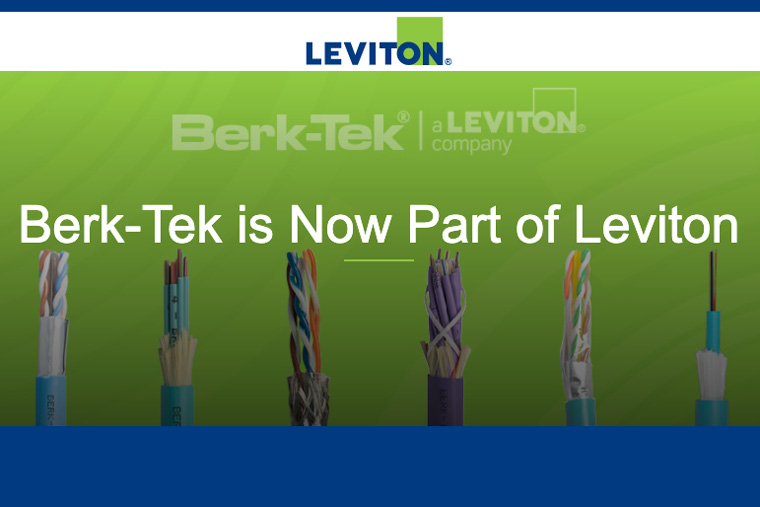 Leviton Completes Acquisition of Berk-Tek